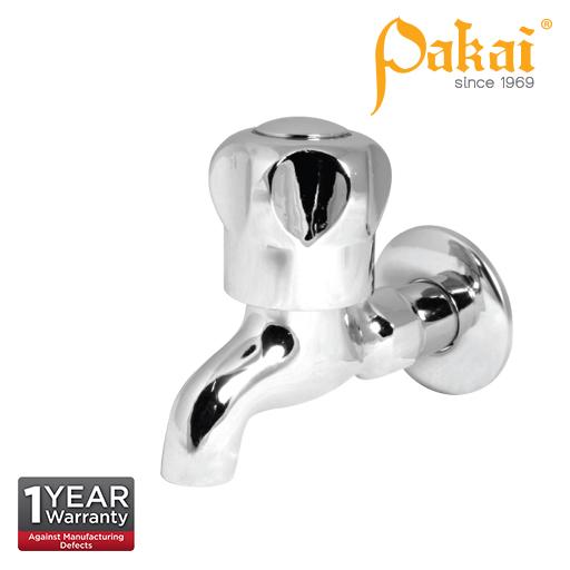 Pakai Crown Knob Handle Bib Tap Crw-Bt - Kitchen & Bathroom Sink Fittings - Water Tap Faucet - Diy I