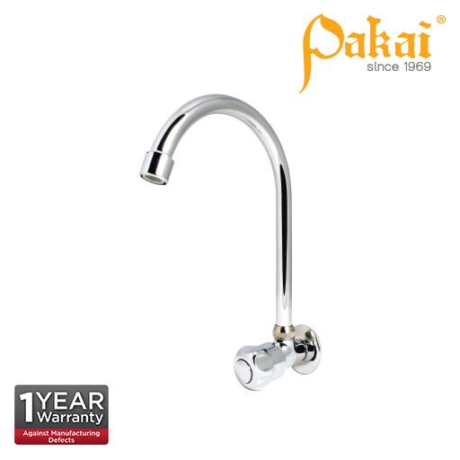 Pakai Crown Knob Handle Wall Kitchen Sink Tap CRW-WST