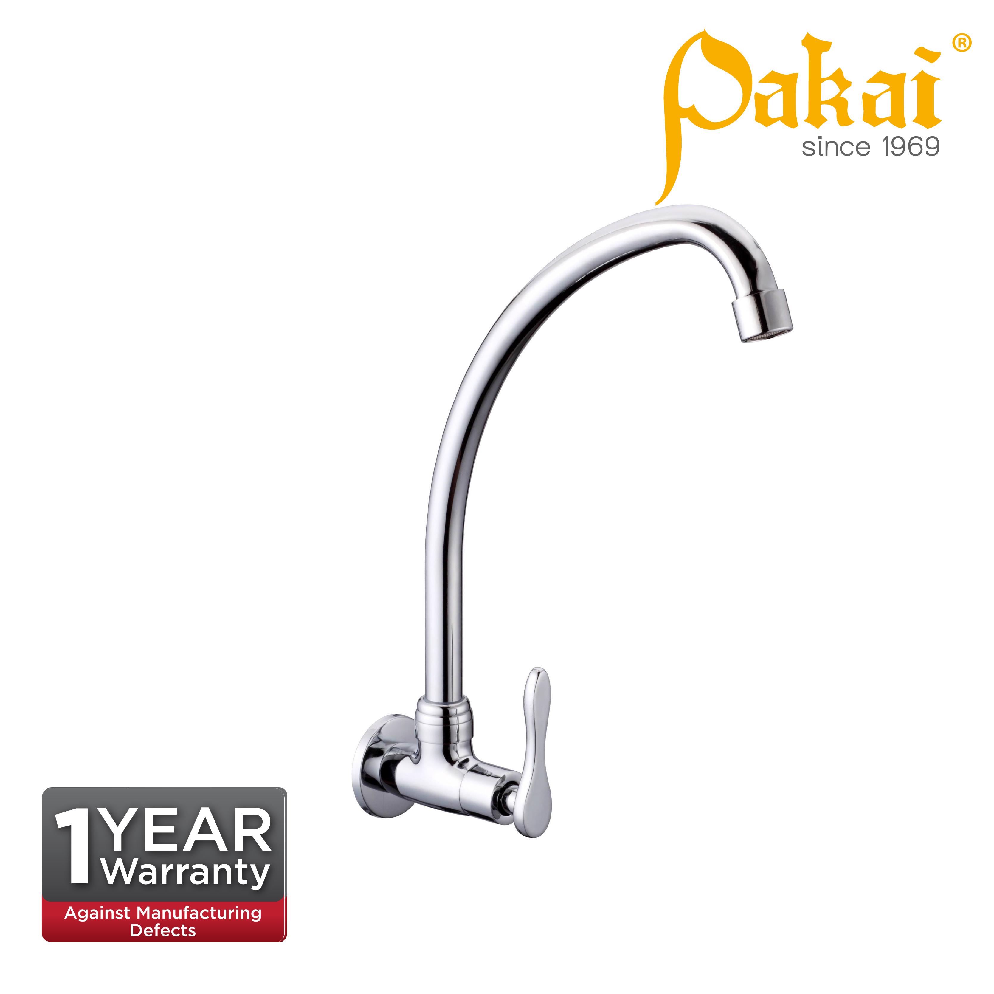 Pakai Wall Sink Tap Ear Spout Curve Series CV51000ES