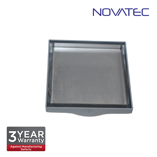 Novatec Plastic Tiles Inset Floor Grating With Stainless Steel Tray & Plastic Retainer Filter FT203