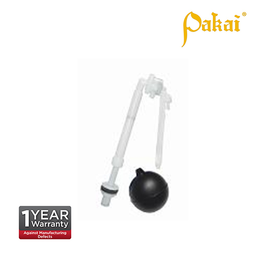 Pakai Bottom Inlet Ball Cock available arm 6 inch