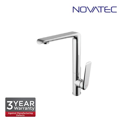 Novatec Single Lever Sink Mixer With Swivel Spout PN65105