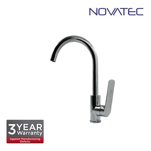 Novatec Single Lever Sink Mixer With Swivel Spout PN65105A