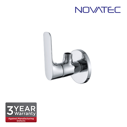 Novatec Angle Valve With Wall Flange RE80706