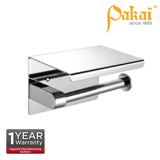 Pakai Stainless Steel 304 Surface Mounted Paper Holder SSTPHA43