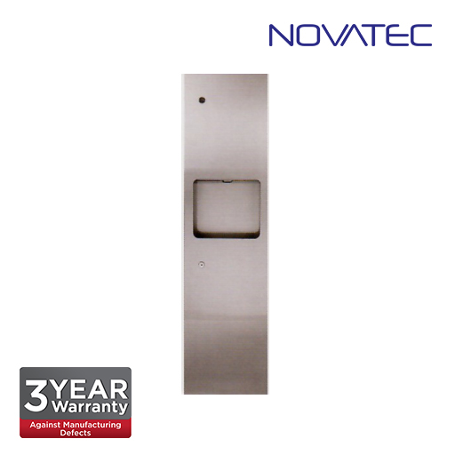 Novatec Stainless Steel 2 In 1 Recess Mounted Paper Dispenser SS-PTD1200