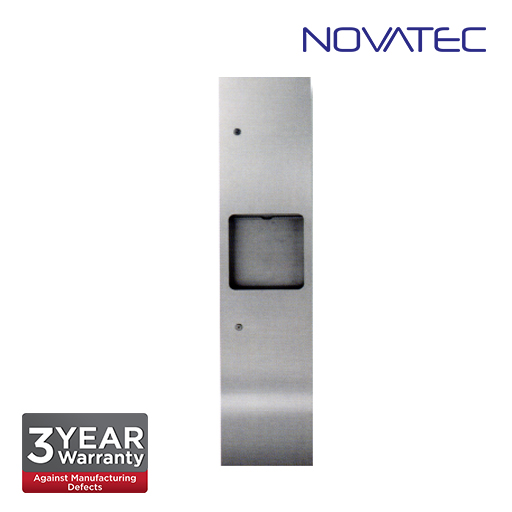 Novatec Stainless Steel 2 In 1 Surface Mounted Paper Dispenser SS-REC-PTD-1400S-E