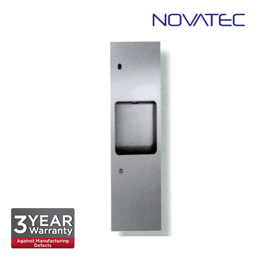 Novatec Stainless Steel 2 In 1 Recess Mounted Paper Dispenser SS-REC-PTD-790