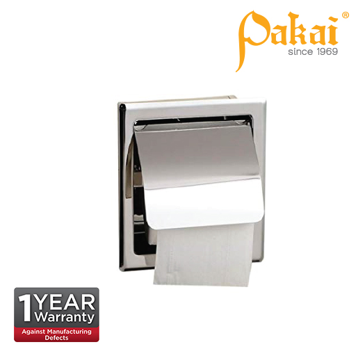 Pakai Concealed Polished Stainless Steel Paper Holder TPH-A120