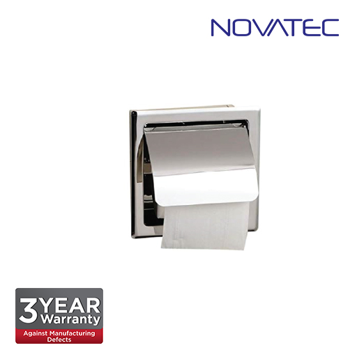 Novatec Stainless Steel In-Wall Paper Holder TPH-A120