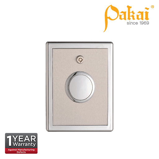 Pakai Concealed Box Type Manual Push Button Urinal Flush valve