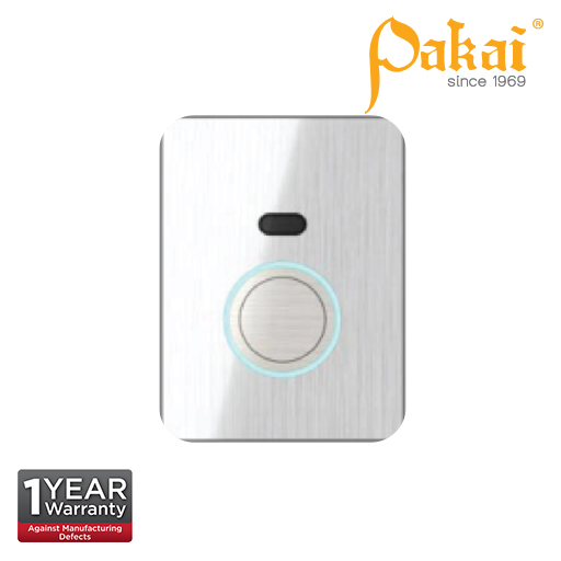 Pakai Concealed Box Type Sensor Automatic  Urinal Flush valve With Manual Override Button.