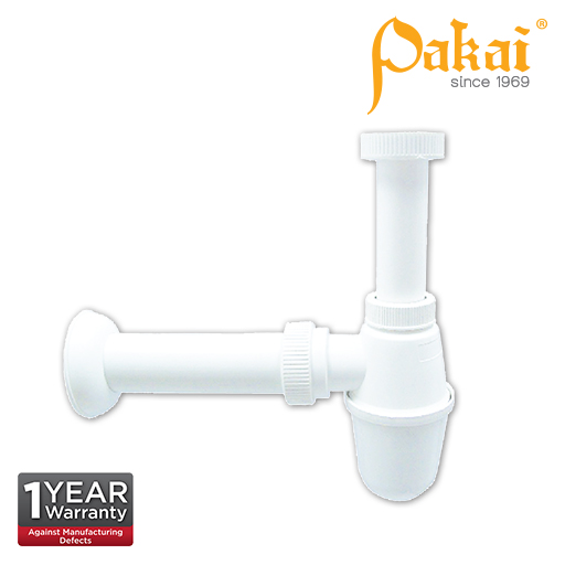 Pakai 32mm Diameter Plastic Bottle Trap A300